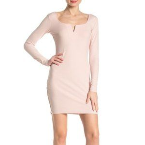 NWT! Material Girl Long Sleeve Bodycon Dress